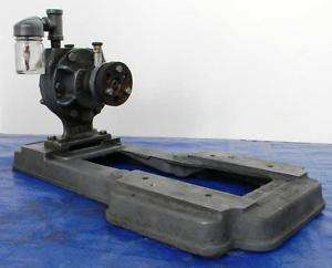 GAST ROTARY VANE VACUUM PUMP with MOTOR MOUNT ~ NEW