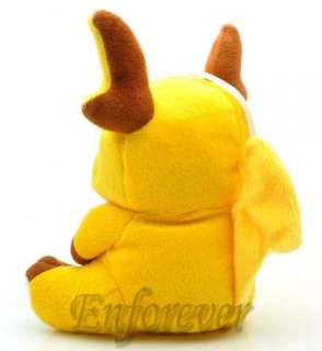 Pokemon Raichu Soft Plush Doll Toy^PC1492
