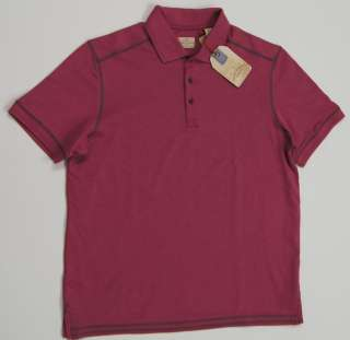 TOMMY BAHAMA Men A Polo in the Sun Polo Shirts   Deep Rose NEW NWT $