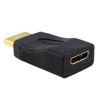 Mini HDMI to HDMI Adapter Type C to A Female to Male