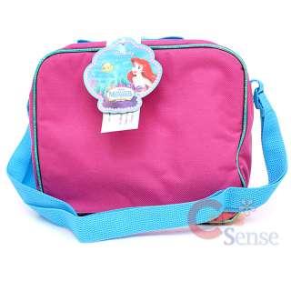 Mermaid Ariel School Roller Bakcpack & Lunch Bag  Large Rolling w