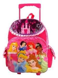 NEW Princess Castle 16 Large Rolling Backpack