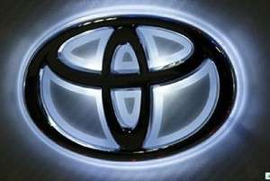 NEW LED Car Decal Logo Light Badge Lamp Emblem Sticker for Toyota