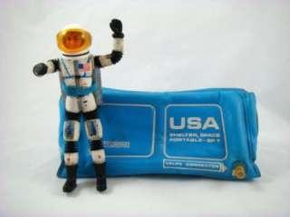 1966 Mattel Matt Mason Astronaut Jet Pack Helmet Tent