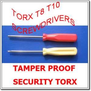 Tamper Proof Security Torx T8 T10 Screwdrivers Xbox360 |