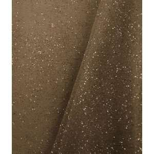 Brown Glitter Tulle Fabric: Arts, Crafts & Sewing