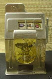 Rexco Las Vegas Nev.10 Cent Bank Slot Machine Metal USA