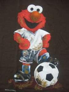 Sesame Street   Elmo   Playing Soccer   T Shirt