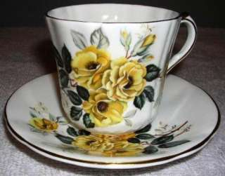 Society Fine Bone China, Cup & Saucer, Dogwood