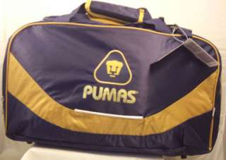 UNAM Pumas Mexico soccer Large Awesome duffel bag New