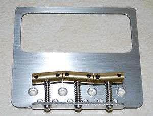 USA CUSTOM P 90 Stainless Steel Bridge PLATE ~Fits Fender Tele