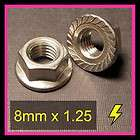 stainless steel metric flange nut 8mm x 1 2 $ 6 00 see suggestions