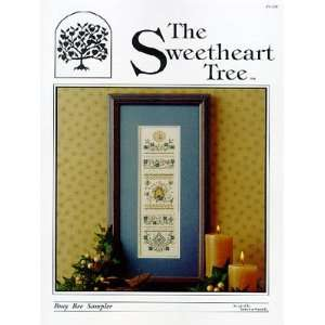 Busy Bee Sampler   Cross Stitch Pattern Arts, Crafts