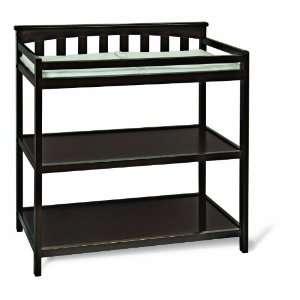 Child Craft Flat Top Dressing Table, Jamocha Baby