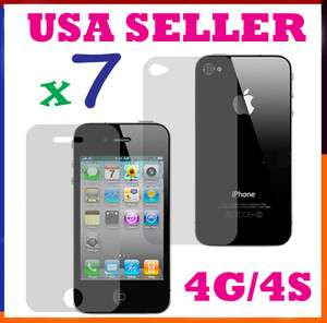 +Back Screen Cover Shield Protector FULL BODY for iPhone 4 4S
