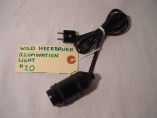 WILD HEERBRUGG ILLUMINATION LIGHT THEODOLITE T2 T16