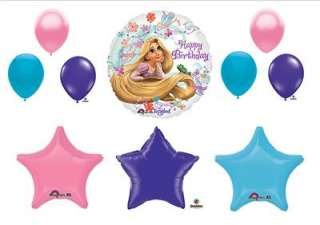 DISNEY TANGLED Birthday party balloons decorations