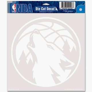NBA Minnesota Timberwolves 8 X 8 Die Cut Decal Sports