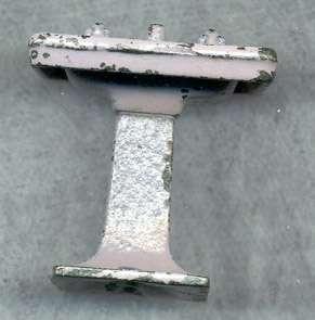 KILGORE TOY BATHROOM SINK CAST IRON PURPLE LILAC CI104