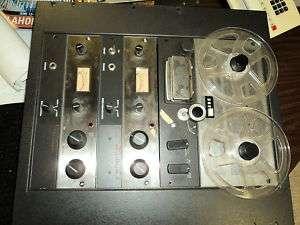 AMPEX AG 600 2 VINTAGE 1/4 REEL TO REEL TAPE RECORDER
