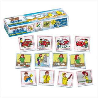 Patch Products Story Sequencing Wall Pocket Chart Card Set 750