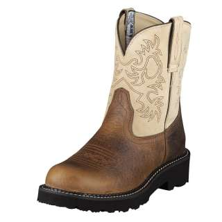 Ariat Womens Fatbaby Cowboy Western Boots Earth 10005914
