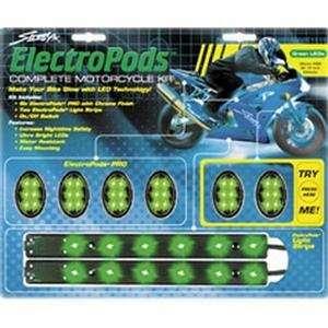 Street FX Pro Lighting Kit   Green/Black Automotive