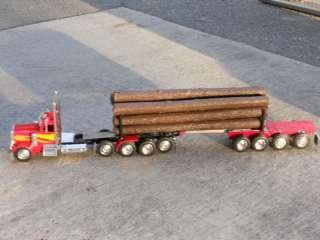 Peterbilt Logging truck LOGZILLA custom Logger MUST SEE