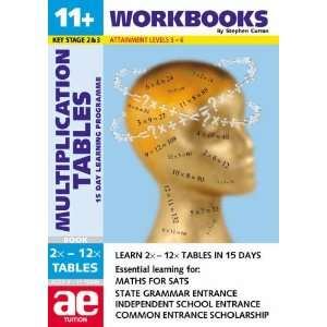 11+ Multiplication Tables (11+ Maths for Sats
