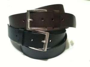 Genuine Mens Leather Dress Belt