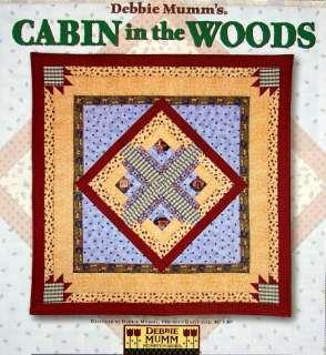 Debbie Mumm CABIN IN THE WOODS Pattern Plus Blocks Kit