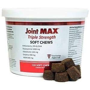 Joint MAX Triple Strength, 120 Soft Chews Pet Supplies