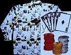 NEW Las Vegas Babe Spade work shirt, Lucky 13, gray, 3X items in Benny