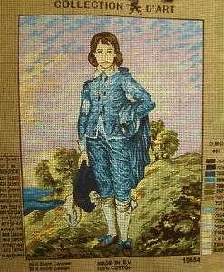 Gainsborough BLUE BOY Needlepoint Tapestry Canvas