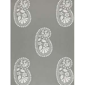 Sch 5005062 Indore Paisley   Charcoal Wallpaper Home Improvement