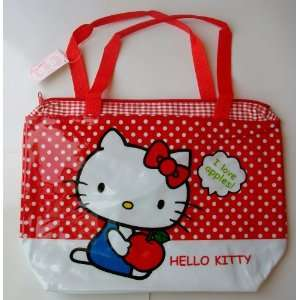 Dots Hello Kitty Vinyl Beach Swim Shoulder Bag #8 Everything Else