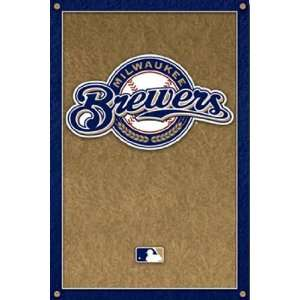 Milwaukee Brewers   Logo by Unknown 22x34: Home & Kitchen