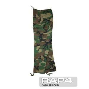 Fusion BDU Pants (Woodland) Large Sports & Outdoors