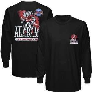 Alabama Crimson Tide Black 2010 BCS National Championship Bound Long