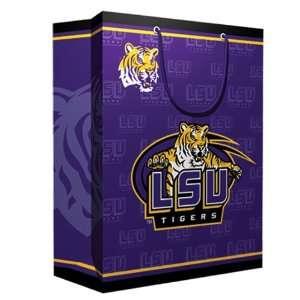 Louisiana State Fightin Tigers NCAA Medium Gift Bag (9.75 Tall) by Pro