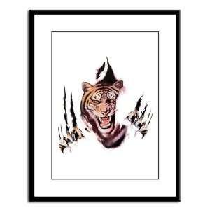 Large Framed Print Tiger Rip Out: Everything Else