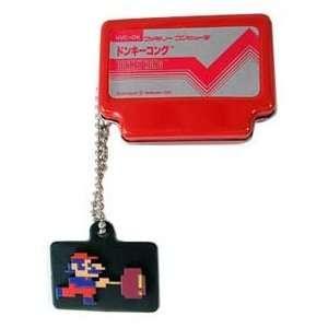 Nintendo Super Mario Bros. Red Famicom Tin Keychain Toys