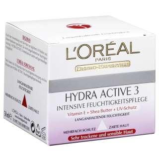 Oréal Paris Hydra Active 3 Sehr trockene Haut & sensible Haut