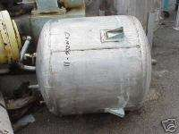 10266 011 80 Gallon Stainless Steel Vertical Tank