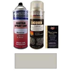 Oz. Tech Silver Metallic Spray Can Paint Kit for 2011 Fiat 500 (GSA