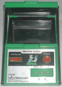 Nintendo Game & Watch Panorama Screen Popeye 1983
