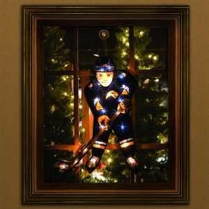 20 NHL Buffalo Sabres Lighted Hockey Player Window Yard Art