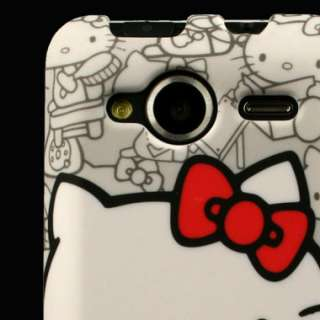 Case for HTC EVO Shift 4G Hello Kitty Hard Cover B Skin Faceplate Clip