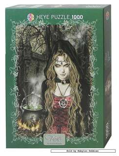 of Heye 1000 pieces jigsaw puzzle Victoria Frances   Witch (29167