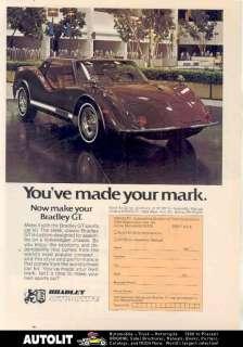 1976 Bradley GT VW Kit Car Ad